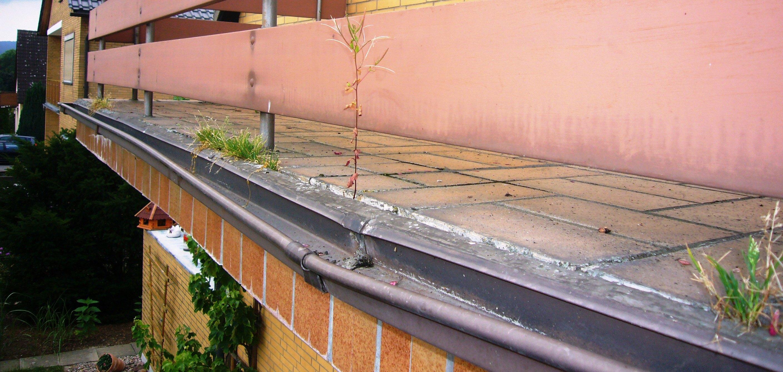 Korrosionsschäden an Balkonen: ein typisches Bild