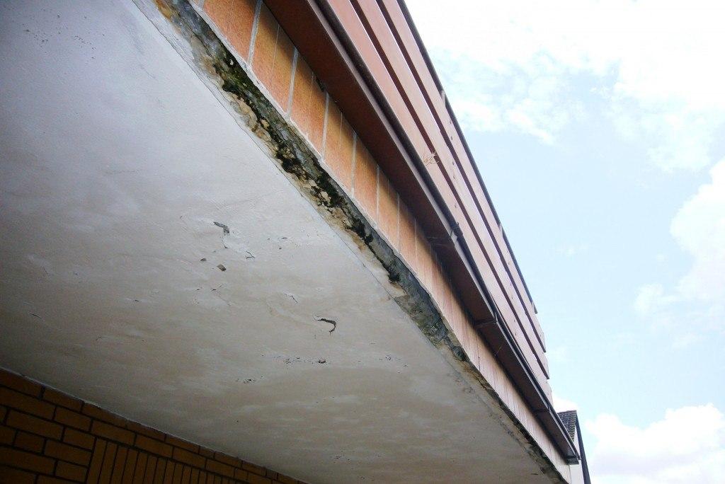 Balkonschaden