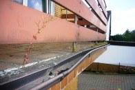 Balkon vor Sanierung