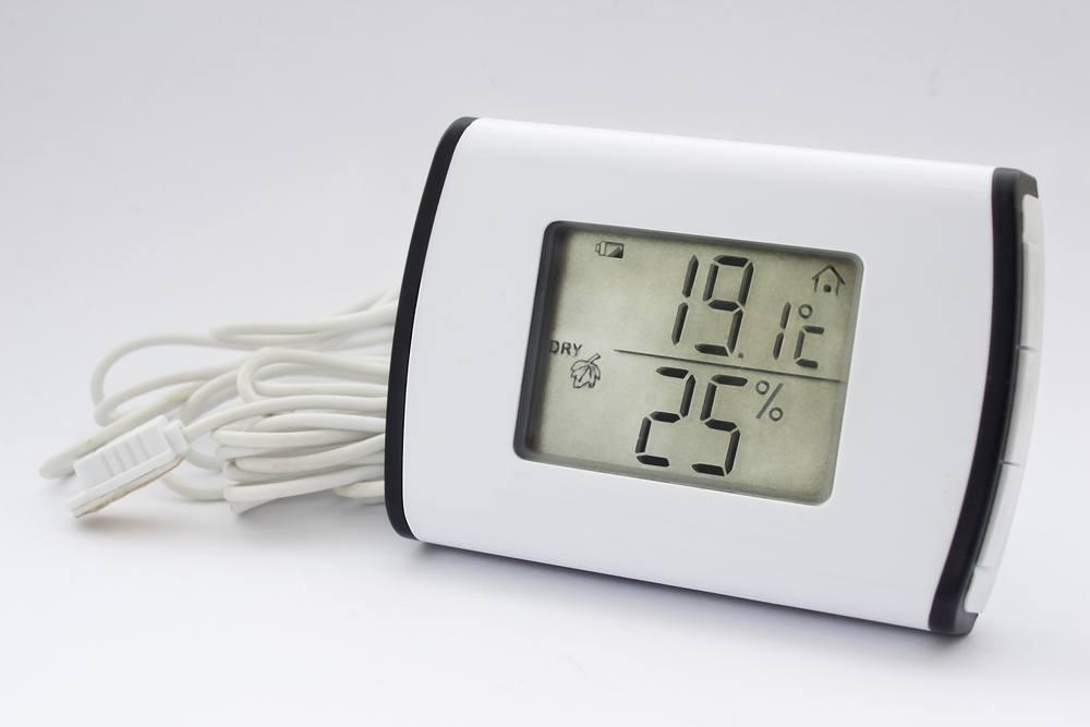 Ein Hygrometer gehört in jeden Haushalt.