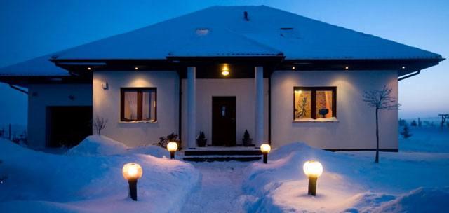 Machen Sie Ihr Haus rechtzeitig winterfest!