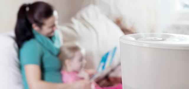Luftbefeuchter sorgen für mehr Luftfeuchtigkeit