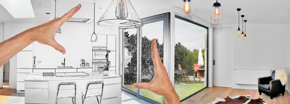 Geplante vergrößerung der Wohnfläche