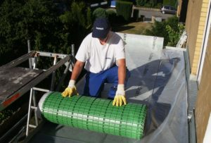 Ein professionelles Drainagesystem schützt wirksam vor Feuchtigkeit