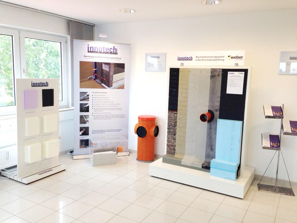 Ausstellungsbereich Außenabdichtung