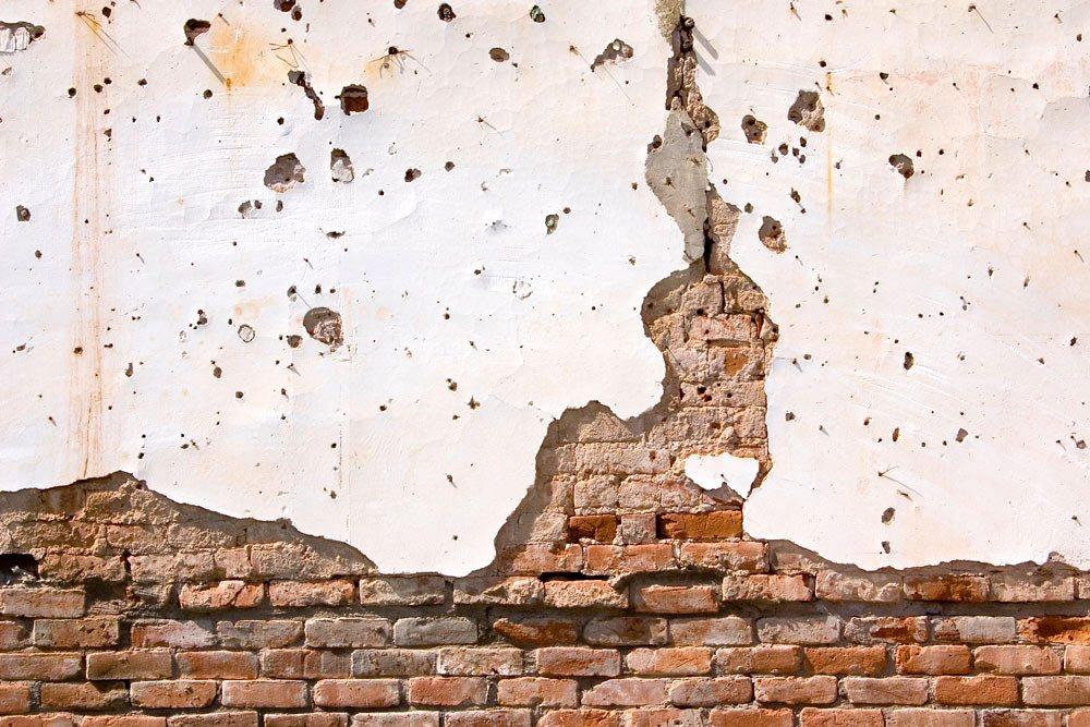 Schäden am Mauerwerk